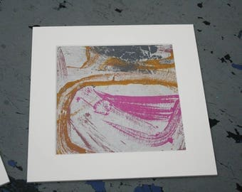 Isolated Moment #37: Original Abstract Painting on Paper
