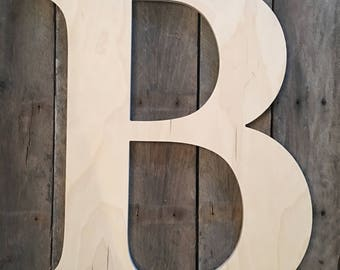 large wood letters wooden letters etsy 18592