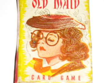 Vintage Sweet Old Maid Card Game - Johnston Candy Co. Giveaway