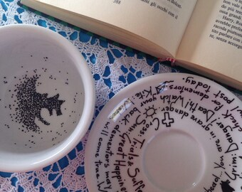 Tazza Gramo - Grim teacup