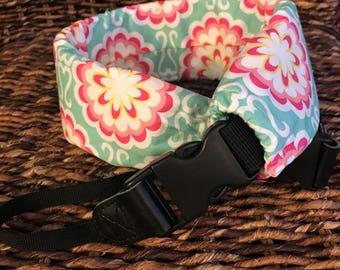 Deluxe Camera Strap, Padded Camera Strap, DSLR Strap, SLR Strap, Fancy Buttons