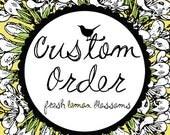 Lara Custom Order 5 inch Letter Banner