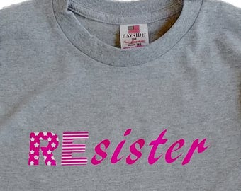 REsister Patriotic Protest T-shirt