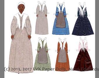 Sojourner Truth Paper Doll