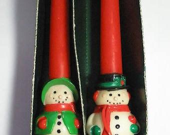 American Greetings Christmas Candles Vintage 1960's