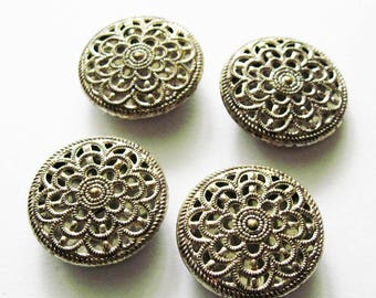 Vintage Mirror Back  Twinkle Buttons