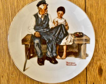 Norman Rockwell The Lighthouse Keeper's Daughter Plate