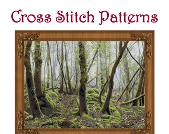 Keys to the Forest Cross Stitch Pattern