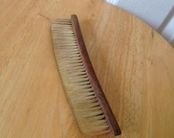 Vintage wooden clothe brush,old bristles clothe brush,old clothe brush,old brush,clothing brush,vintage brush,vintage clothe brush,brush