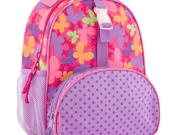 Personalized Stephen Joseph All Over Print Butterfly Small backpack