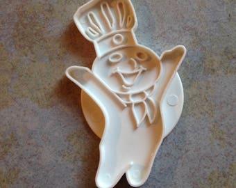 Poppin' Fresh Pillsbury Doughboy Cookie Cutter