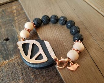 Bellabeat Urban bracelet accessory with rose gold