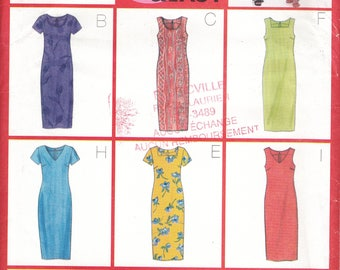 Butterick Uncut Sewing Pattern 5417 Dress for women size 12-14-16