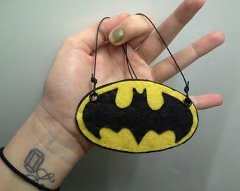 CLEARANCE Necklace Pop Culture Comics Batman Symbol