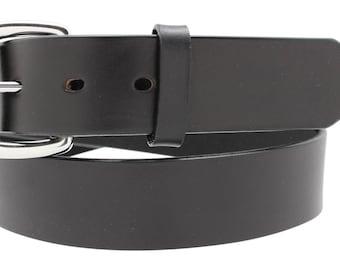 Latigo Leather Belt 1 1/2'' up to 70'' waist