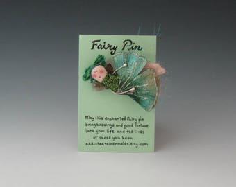 Fairy Pins, Fairies, Fairy