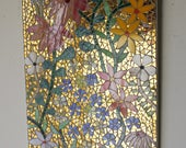 Flower Power Stained Glass Mosaic