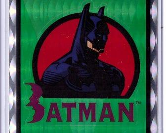 1994 DC Comics Batman Vendor Sticker BATMAN LOGO