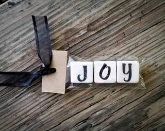 JOY Tumbled Stone miniMagnet Word Strip