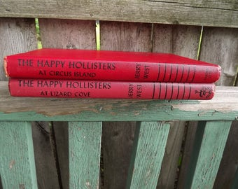 The Happy Hollisters vintage children's books 1950s