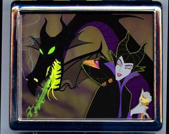 Maleficent Sleeping Beauty Inspired Pill Box 8 Day Organizer