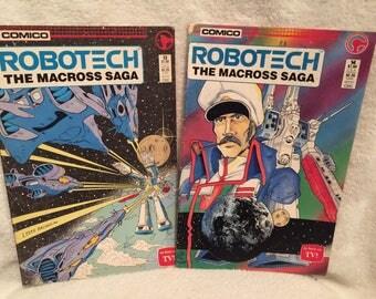 Robotech comic books