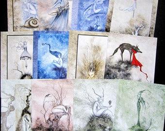 BUY 2 GET 3rd FREE Mystery Print - The Dark Woods Grab Bag 8.5x11 prints
