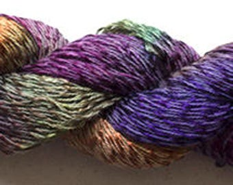 Candy Twist, Hand Painted yarn, 300yds - Vineyard