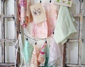inspiration kit No040 - pink and mint
