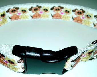 "Best Friends Dog Collar-Large size 16"" to 25"" adjustable"