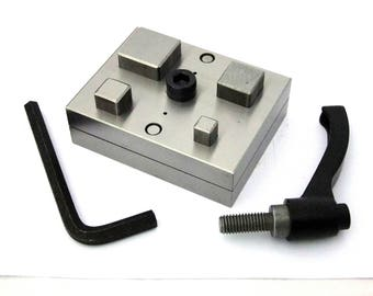 Square Shaped Disc Cutter 4 Sizes With Handle Sizes 3/8 to 1 Inch