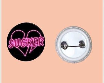 """SUCKER 1"""" PinBack Button"""