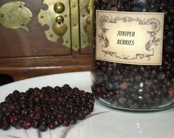 Juniper Berries~2 OUNCE package~Planet Jupiter~Element Fire~Masculine Herb