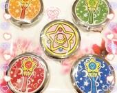 Sailormoon Compact Mirrors-Inner Senshi