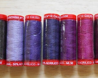 Genziana Wool Thread Sampler Pack for Wool Applique and Embroidery Number 3d