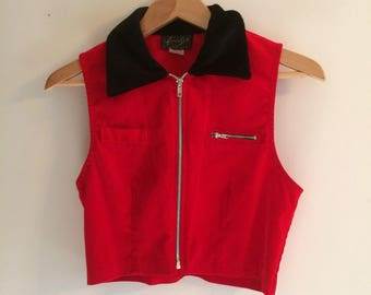 Vintage 90s Res Crop Top Vest