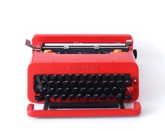 Olivetti Valentine typewriter by Ettore Sottsass 1969