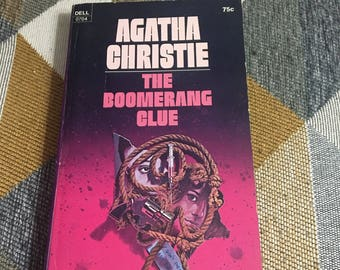 Vintage 1971 Agatha Christie The Boomerang Clue Paperback Book