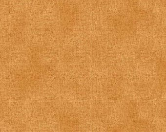 NEW Crafty Cats Craft 100% Cotton Quilt Fabric Over 1-1/2 Yards Cut of Orange Tonal