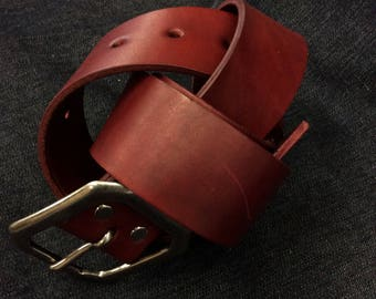 Oxblood Belt - Second