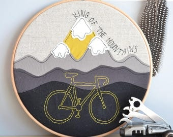 Mountain or Road Bike Personalised Picture