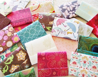 """50 -3"""" x 4""""  Matchbook Notepads -  Assorted Patterns - 3 inch  x 4 inch fold over sheets -  Priority Shipping"""