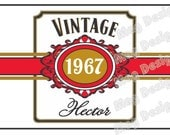 Private Listing for idojodireed12 Custom Cigar Bands - Happy Birthday - Wedding Party Labels - Groomsman Cigar Bands (16)