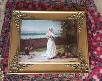 1900 Ullman Mfg Co print on glass