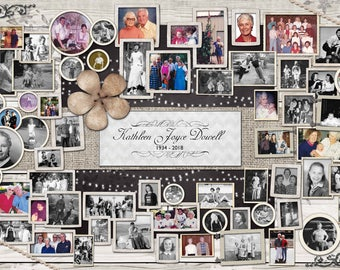 Remembrance Photo Collage