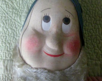 Antique Cloth Dwarf from Snow White and the Seven Dwarfs