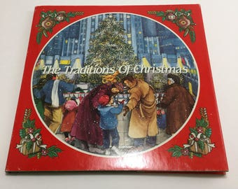 "Vintage 1989 Avon ""The Traditions of Christmas"" Book"