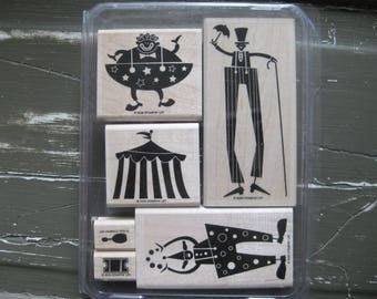 SUPPLY DESTASH - New Stampin' Up! Clowning Around Stamp Set