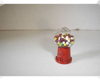 Miniature Metal Item- Gum Ball Machine /Minis/Supplies*