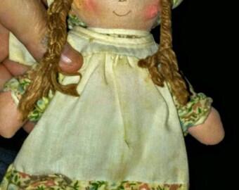 Vintage American Greetings Heather Hobby Rag Doll
